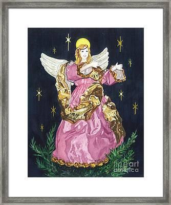 I Believe In Angels Framed Print