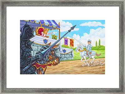 I Believe In You Framed Print by Phil Wilson