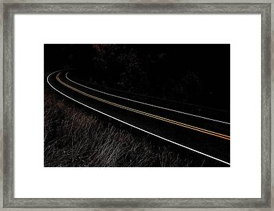 I Believe You Are Going... Framed Print by Benjamin Yeager