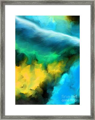 I Can Hear You Framed Print by Hilda Lechuga