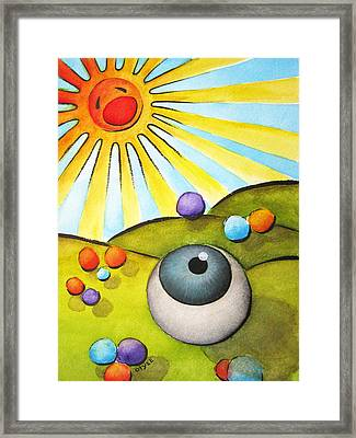 I Can See Clearly Now Framed Print by Oiyee At Oystudio