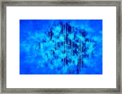 I Can See Earth From Here Framed Print by Kellice Swaggerty