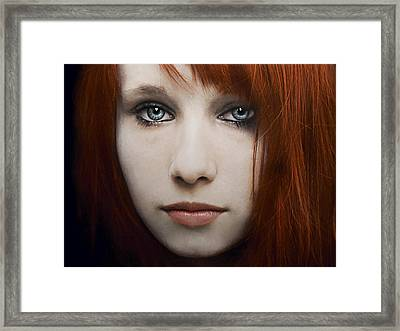 I Can See The Ocean In Your Eyes Framed Print by Joachim G Pinkawa