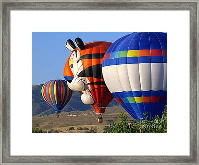 I Can See Your House Framed Print by Irma BACKELANT GALLERIES