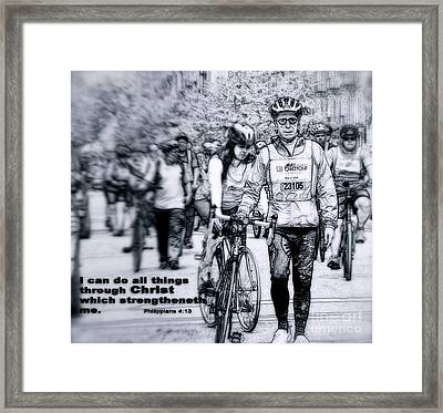 I Can Framed Print by Terry Wallace