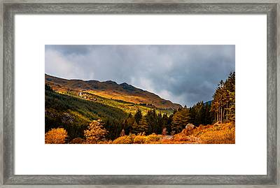 I Cant Forget This Light. Scotland Framed Print