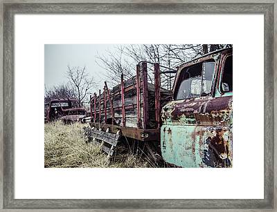 I Carried My Weight  Framed Print by Off The Beaten Path Photography - Andrew Alexander