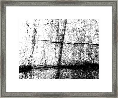 Rough Cut Framed Print