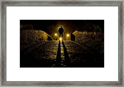 I Come In Peace Framed Print