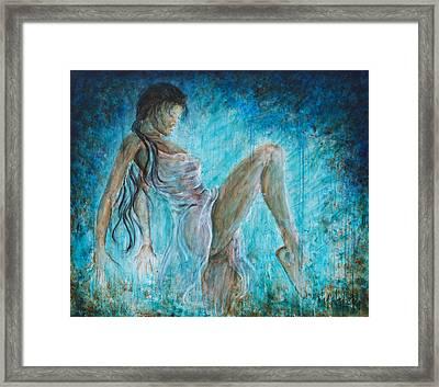 I Dance Alone Framed Print by Nik Helbig