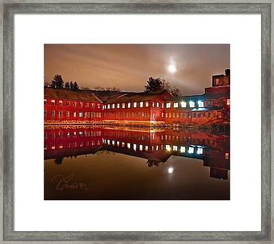 Framed Print featuring the photograph I Don't Hear The Machines Anymore by Tom Cameron