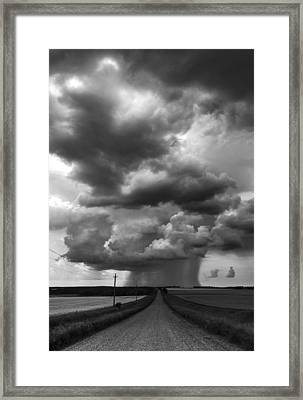 I Don't Know Where I'm Going Framed Print