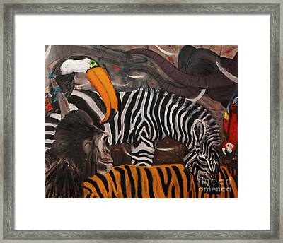 I Dream Of Africa Framed Print by Wayne Cantrell