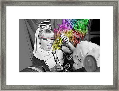 I Dream Of Jeannie Framed Print by Renee Marie