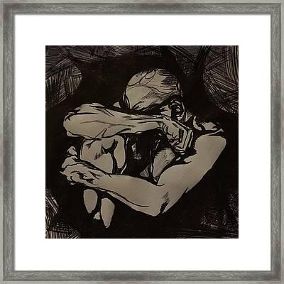 I Feel You Framed Print by Nelson Vargas