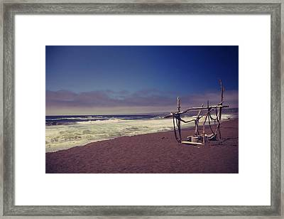 I Feel You Slipping Away Framed Print by Laurie Search