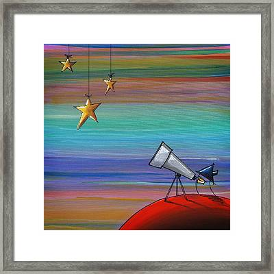I Finally Found You Framed Print by Cindy Thornton