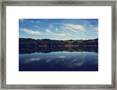 I Float On Anyway Framed Print by Laurie Search