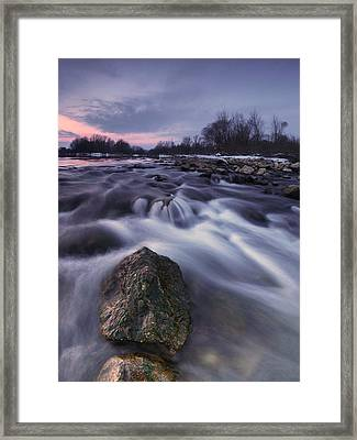 I Follow River Framed Print by Davorin Mance