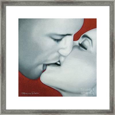 I Fucking Love You Framed Print by Lorena Rivera