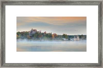 I Get Misty Framed Print