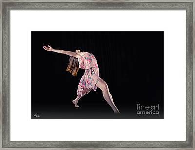 I Give Myself To Rhythm Framed Print