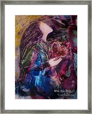 I Give You My Heart Framed Print
