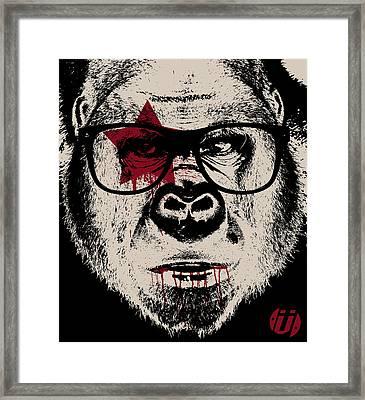 I Go Ape Framed Print by Eric Smith