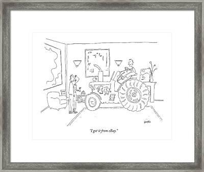 I Got It From Ebay Framed Print