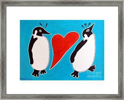 I Got The Love Framed Print