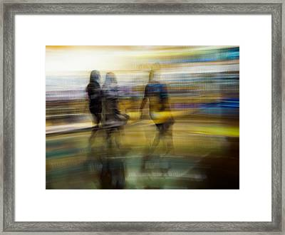 Dreaming In Color Framed Print