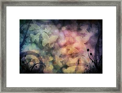 I Have A Dream... A Fantasy Framed Print by Marianna Mills