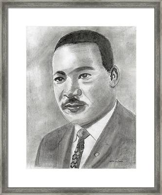 I Have A Dream Framed Print by Larry Ferreira