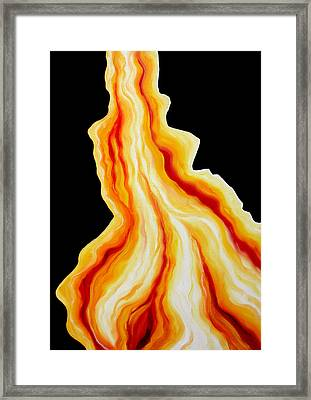 I Have Loved You First Framed Print by Sandra Yegiazaryan