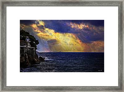 I Have Seen Fire And I Have Seen Rain Framed Print