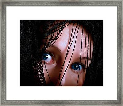 I Have Something To Say Framed Print by Camille Lopez