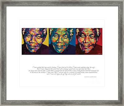 I Have Walked That Long Framed Print by Salli Van Druten