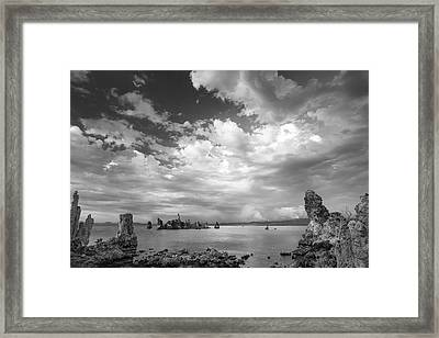 I Hear The Clouds Framed Print by Jon Glaser