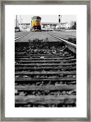 I Hear The Whistle Blowing Framed Print