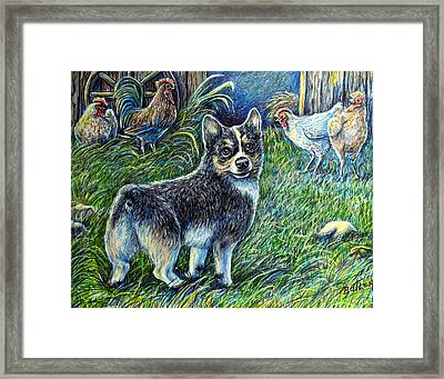 I Heard You But.... Framed Print by Gail Butler