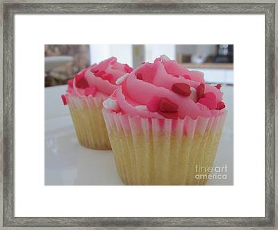 I Heart You 3 Framed Print by Khuyen DiLouie