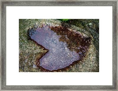 I Heart You Framed Print