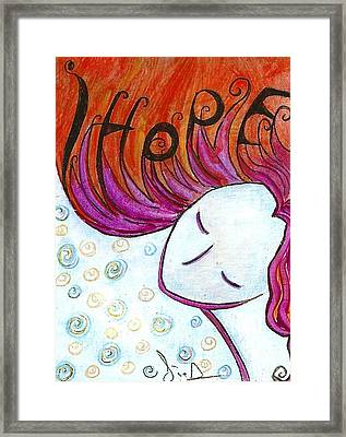 I Hope Framed Print by Gioia Albano