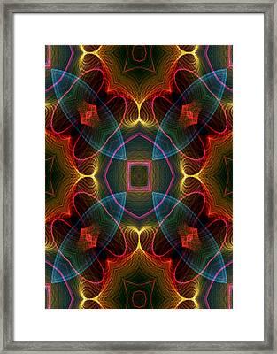 I I U Framed Print