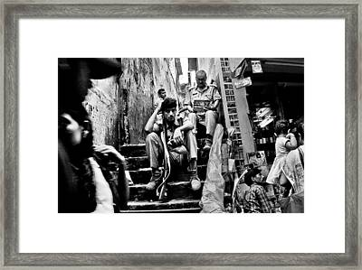 I Just Wanna Go Home Framed Print by Cecil K Brissette