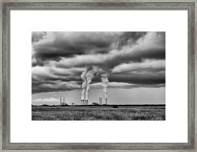 I Just Wonder Framed Print by David Mcchesney