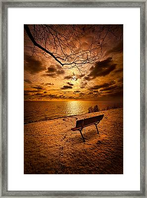 I Know You Will Always Be There Framed Print