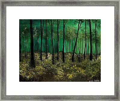 I Know Your Secrets Framed Print by Lisa Aerts