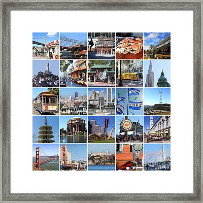 I Left My Heart In San Francisco 20150103 Framed Print by Wingsdomain Art and Photography