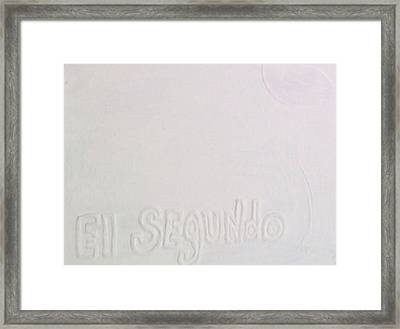 I Left My Wallet In El Segundo Framed Print by Lisa Piper